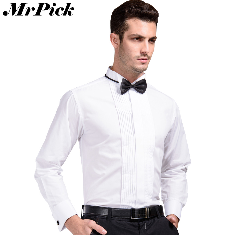 Buy solid tie men french cuff button for Mens french cuff shirts