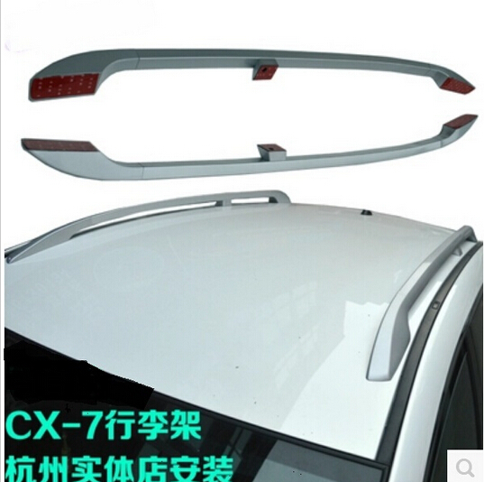 High Quality Aluminum Alloy SUV Car 2 Pcs Roof Rack OEM