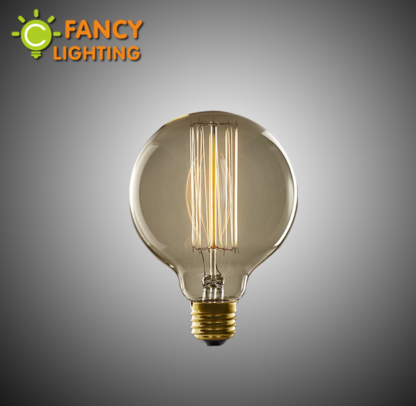 Vintage edison bulb G80 edison lamp decorative light bulb 110/220V incandescent bulb Filament bulb for decor Edison bombilla(China (Mainland))