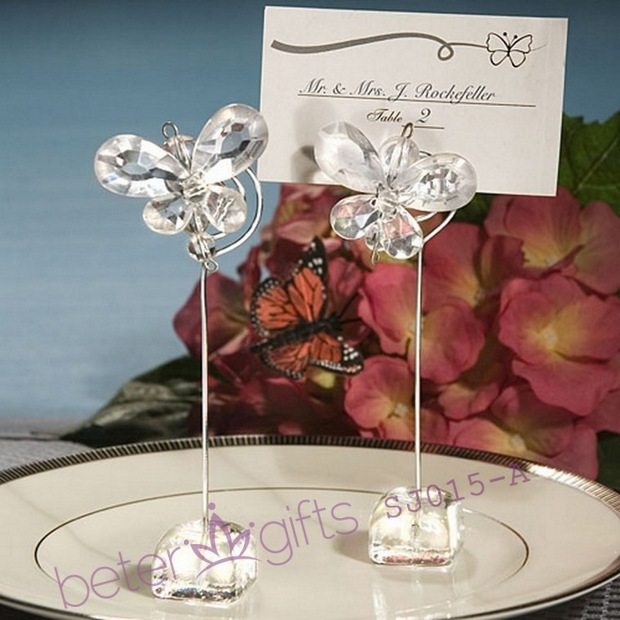 Wedding Party Decoration Butterfly Place Card Holders SJ015 A Wedding