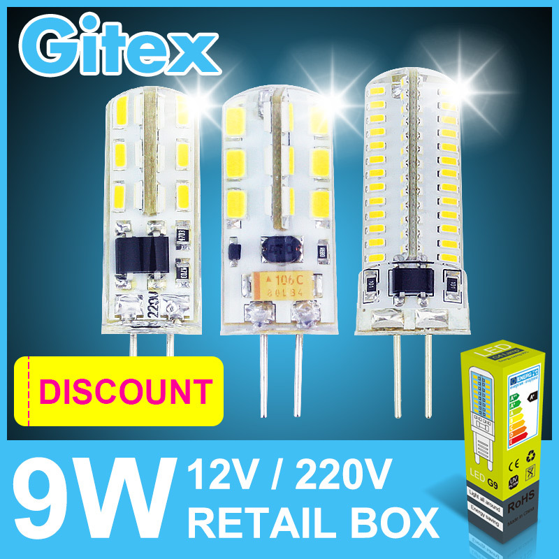 6Pcs Led G4 3014SMD 3W 5W 6W 7w 9w 10w Lampada Led G4 12v DC Lamp G4 Led AC 12v Led Bulb lamps AC 220V G4 Light Spotlight(China (Mainland))