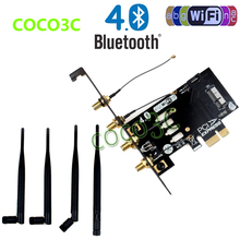 Laptop Wireless Network Card adapter PCI-e to 3G bluetooth 4.0 WIFI BCM94360CD module for macbook Pro/Air