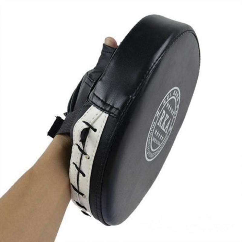 Гаджет  Lowest Price Boxing Mitt Training Target Focus Punch Pads Gloves MMA Karate Combat Thai Kick PU Foam Material None Спорт и развлечения