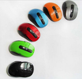 5 colors available Ultra Thin Optical Wireless Mouse 2 4G Receiver mouse For PC Laptop free