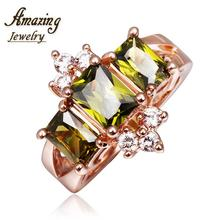 R417 WholesaleHigh QualityNickle Free AntiallergicNew Fashion Jewelry 18K Real Gold PlatedRing For Women Free Shipping