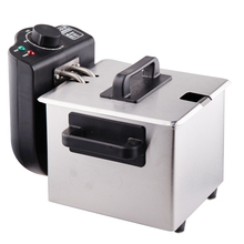 Buy freeshipping 3L capacity 2000W power electric fryer Smokeless Stainless Steel Fryer Ccommercial Household Electric Fryer for $100.10 in AliExpress store