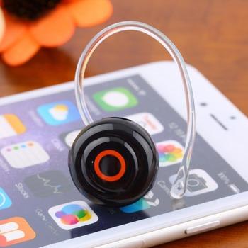1 шт. наименьший музыка + телефонные звонки громкой стерео мини-наушники гарнитура