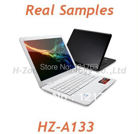 Freeshipping by DHL or EMS Fashion mini laptop computer super thin 13 inch notebook pc with wifi webcam 4G DDR3 Ram 500GB HDD(China (Mainland))