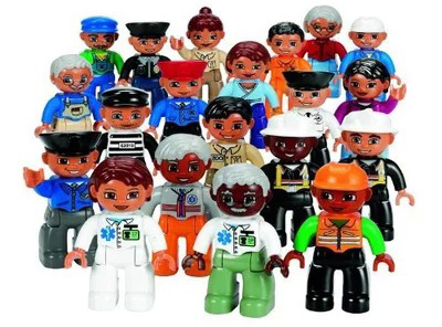 New 10pcs/lot Duplo Animal Minifigure Model Building Blocks Sets Anime Figure toys Compatible with Lego toys for children