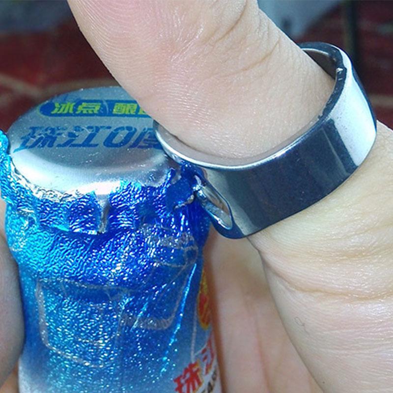 1Pc Stainless Steel Finger Ring-Shape Bottle Opener Portable Ring Beer Opener High Quality Bar Tool Wine Opener(China (Mainland))