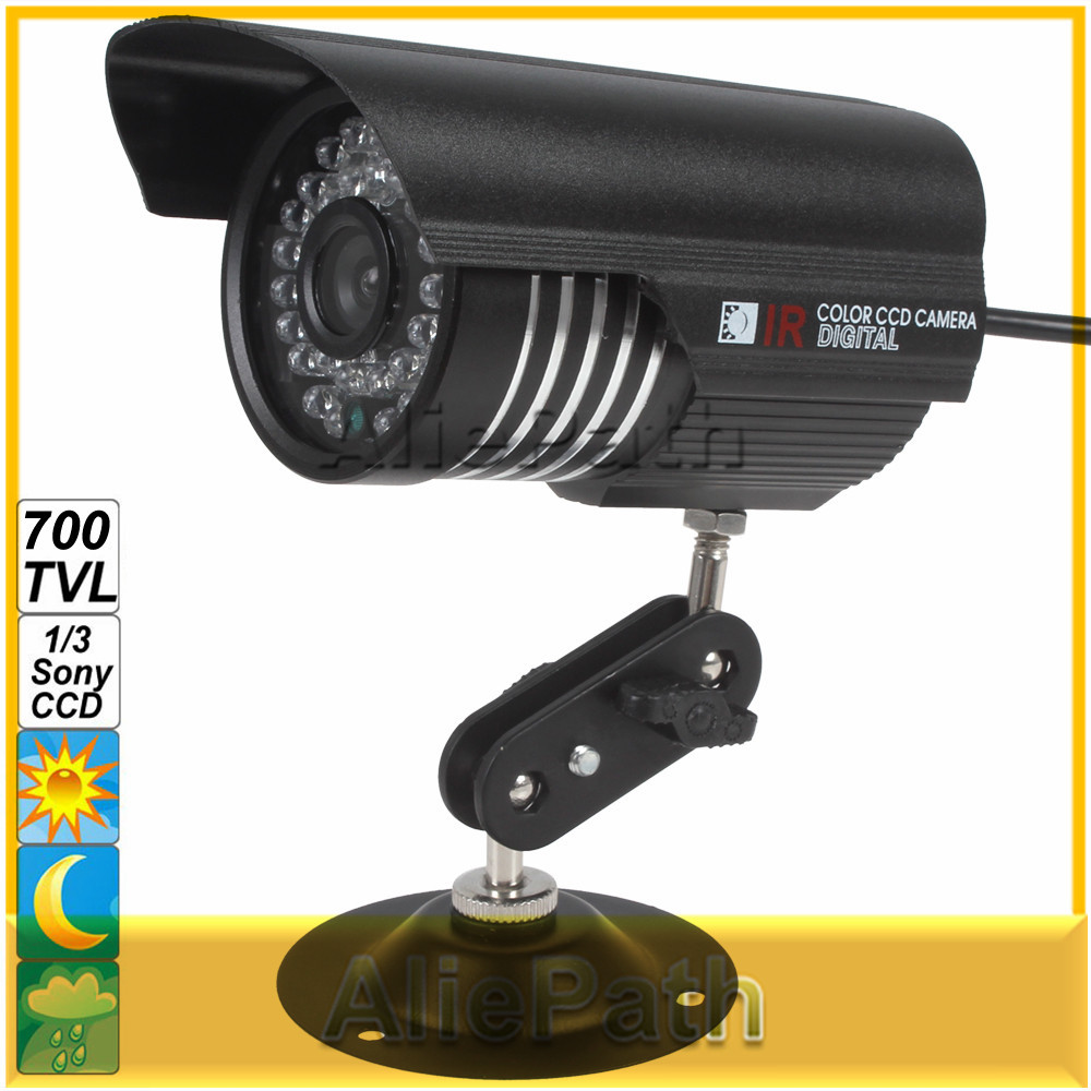 Colorful IR 1200 TVL OSD Menu 1/3 Sony CCD Camera Support IP66 Waterproof with Night Vision(China (Mainland))