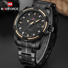 Buy NAVIFORCE Men Luxury Brand Full Steel Army Military Watches Men's Quartz Hour Clock Watch Sports Wrist Watch Relogio Masculino for $19.99 in AliExpress store