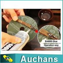 4pcs 25ml  B-6000 Jewelry Craft Glue Rhinestone crystal Glue adhesives glue with built-in Needle Nozzle(China (Mainland))