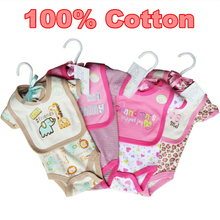 Summer Style 2015 Baby Rompers Body Carters Baby Newborn 100 Cotton Infantil Clothing Sets Boy Girl