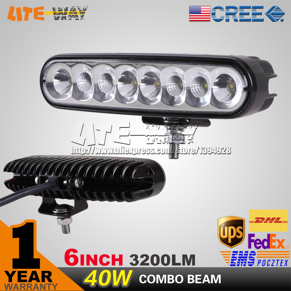 40w 6inch 9-32v for DRL led work light running lights fluorescent light for car for offroad 4x4 truck reverse light 18w/27w(China (Mainland))