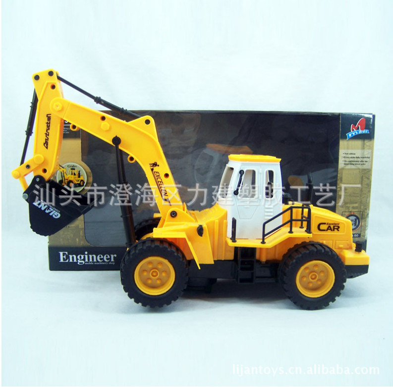 High Quality!!! Electronic Cars Construction truck navvy Vehicles 24*15*6cm Baby Kid Toys Gifts Models(China (Mainland))