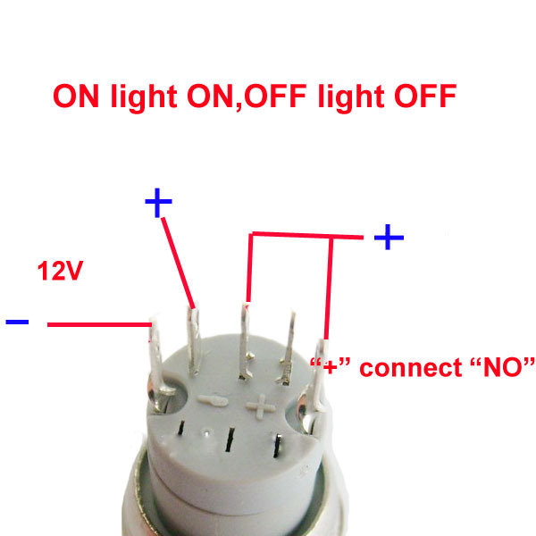 LED Momentary Switch