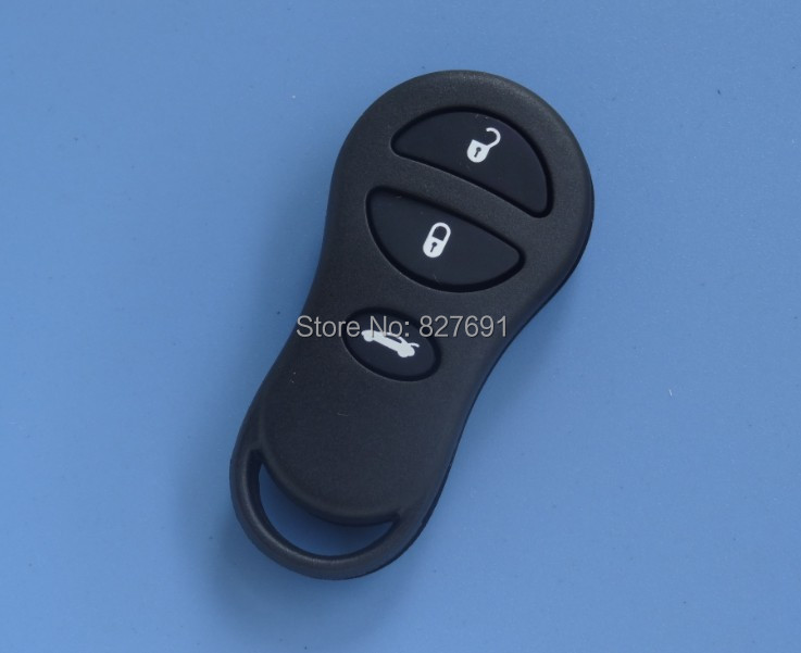 Guaranteed 100% 3 button remote key case for Chrysler Dodge Free shipping wholesale and retail(China (Mainland))
