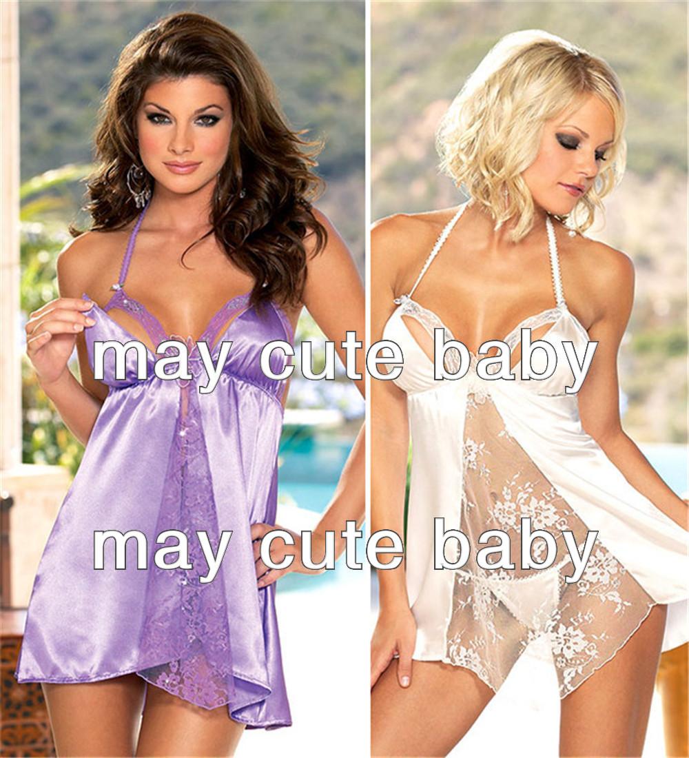 Секс в шелковый платье 1 фотография