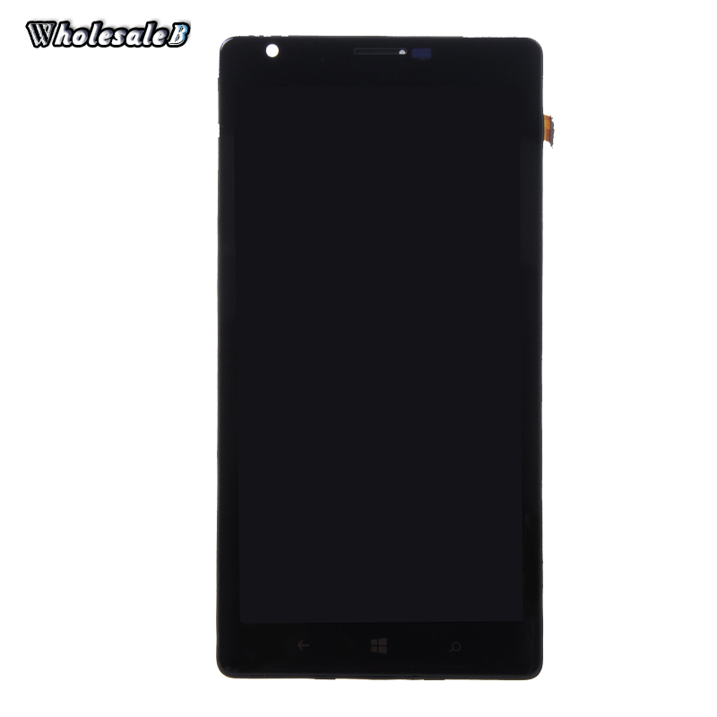 A+Quality Black LCD Display For Nokia Lumia 1520 Touch Screen Digitizer Assembly For Nokia Lumia 1520 Free Shipping NOK067(China (Mainland))