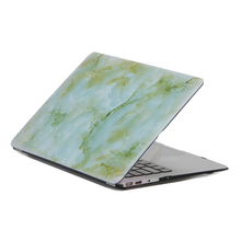3in1 Marbling Case For Apple macbook Air 13 11 Pro 15 12 Retina laptop Protector For Mac book cheap price cut out logo free ship