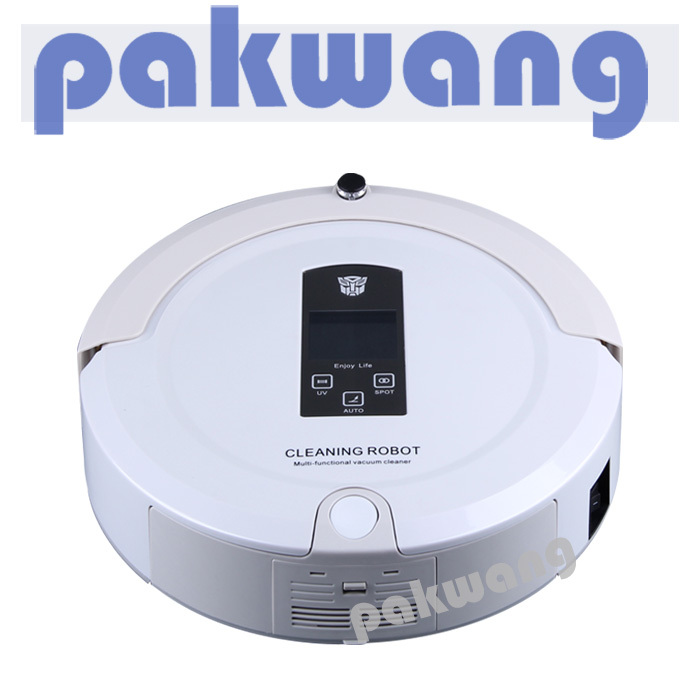 Robotic Vacuum Cleaner rechargeable auto , sweeper machinery,low noise,long working time,robot cleaner auto(China (Mainland))