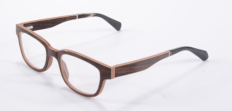 Men s European Eyeglass Frames : European Eyeglass Frames Eyewear Wood Optical Frame Women ...