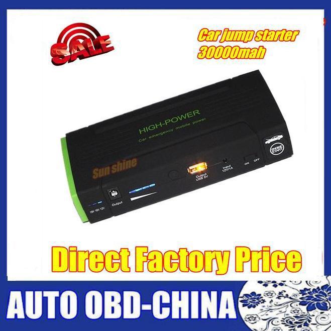 2016 Multi-Function 30000mAh Emergency Jump Start car power Bank For Car Jump Starter 12V supplier car jump starter(China (Mainland))