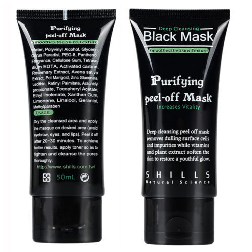 Black Mask Face Mask Blackhead Remover Deep Cleansing Purifying the Black Head Acne Treatments Facial Mask Skin Care(China (Mainland))