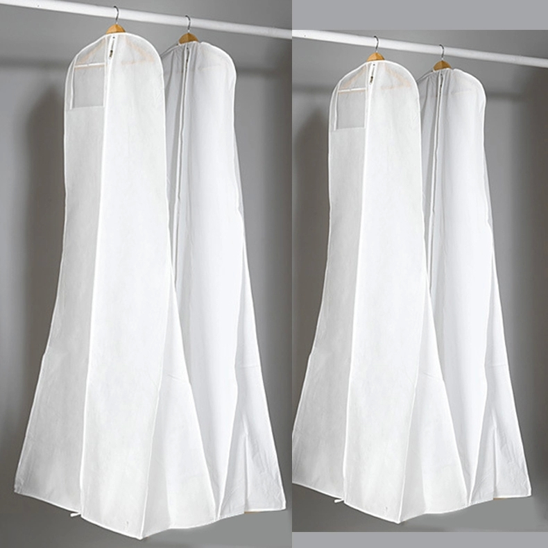 Wedding Dress Storage Bag Non Woven Fabric Amp Plastic Garment Dust Proof Cover Bags 18m Long