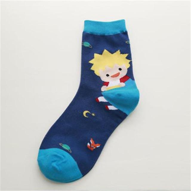 Женщины мультфильм носки новые зимние милый мультфильм хлопчатобумажные носки женские ...