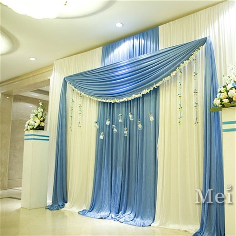 Online get cheap stage curtain design for Background curtain decoration