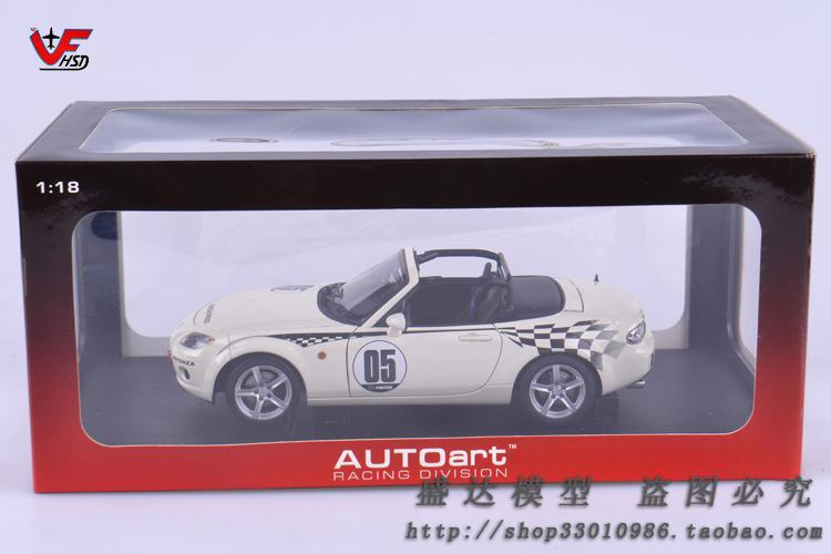 Mazda mx5 roadster autoart 1:18 Alloy automobile fashions Traditional automobiles Quick and Livid Presents for boys Racing
