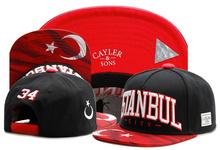 New brand C&S ISTANBULZ CAP 34 Turkey Istanbul black red baseball cap snapback hat for men women hip hop adult sun active cap