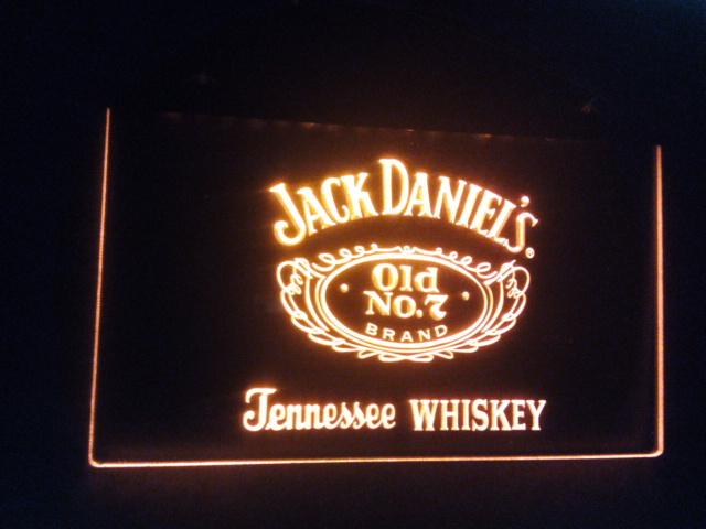 jb-010 Whiskey Old No. 7 Bar Beer LED Neon Sign(China (Mainland))