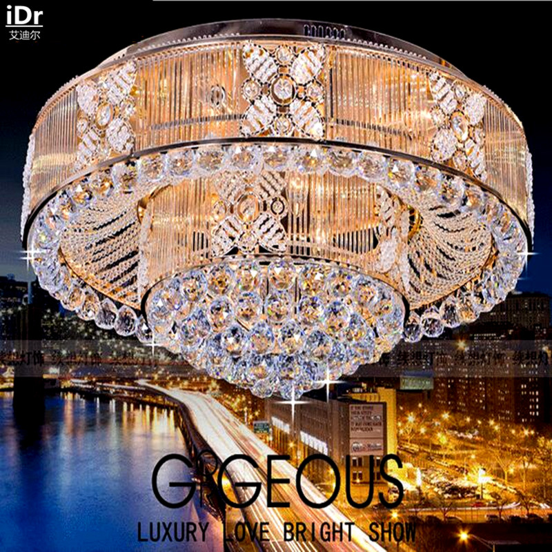 S spot wholesale gold luxury hotel project lamps crystal for Luxury hotel project