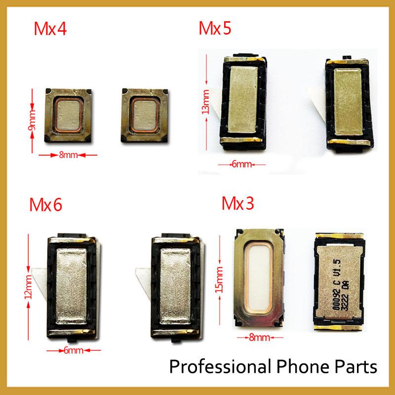2Pcs/Lot, New Earpiece Ear Speaker Meizu MX5 MX6 MX4 MX3 pro5 Pro6 Meilan M1 M2 M3 M3s Meilan Note 2 M1 Note Parts
