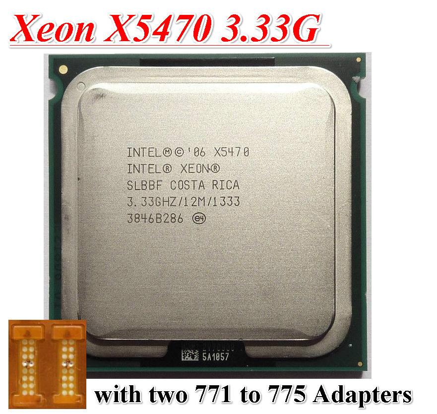 Original Xeon X5470,INTEL XEON X5470 CPU processor (3.33GHz /LGA771/12MB L2 Cache/Quad Core/FSB 1333) server CPU(China (Mainland))