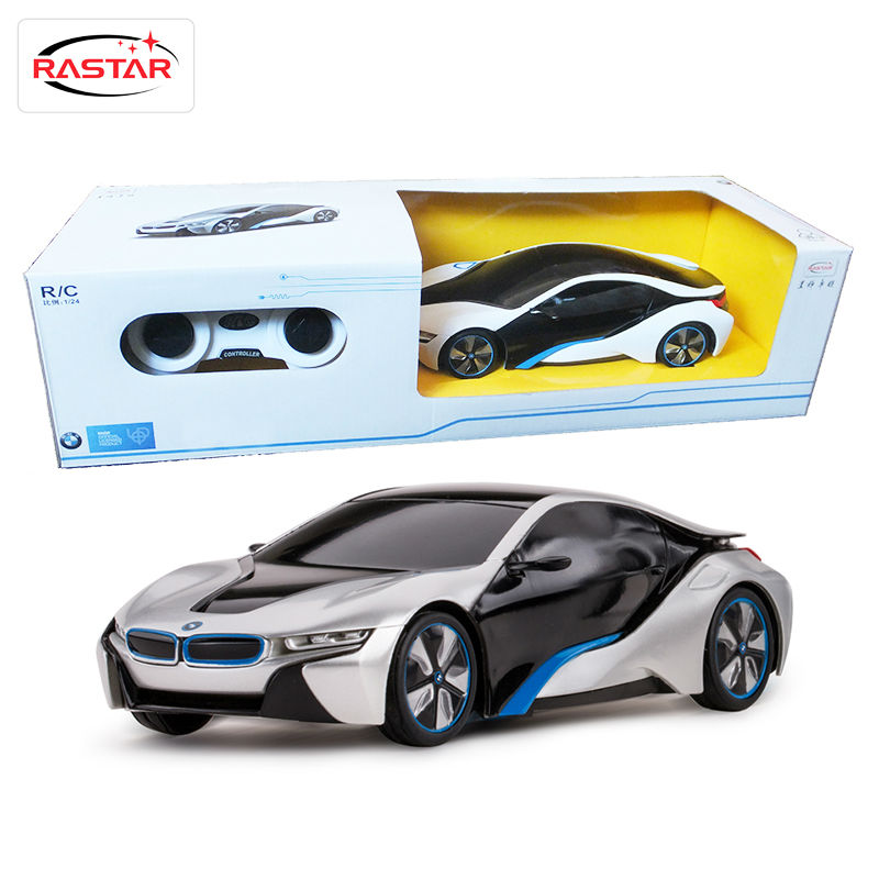Licensed 1:24 Rastar RC Mini Cars Electric Remote Controlled Toys 4CH Radio Cars Classic Hobbies Toys For Boys Kid Gift I8 48400(China (Mainland))