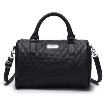 Mng черный женщины полиуретан кожа сумочка шотландка мешок женщины сумка-мессенджер манго mng