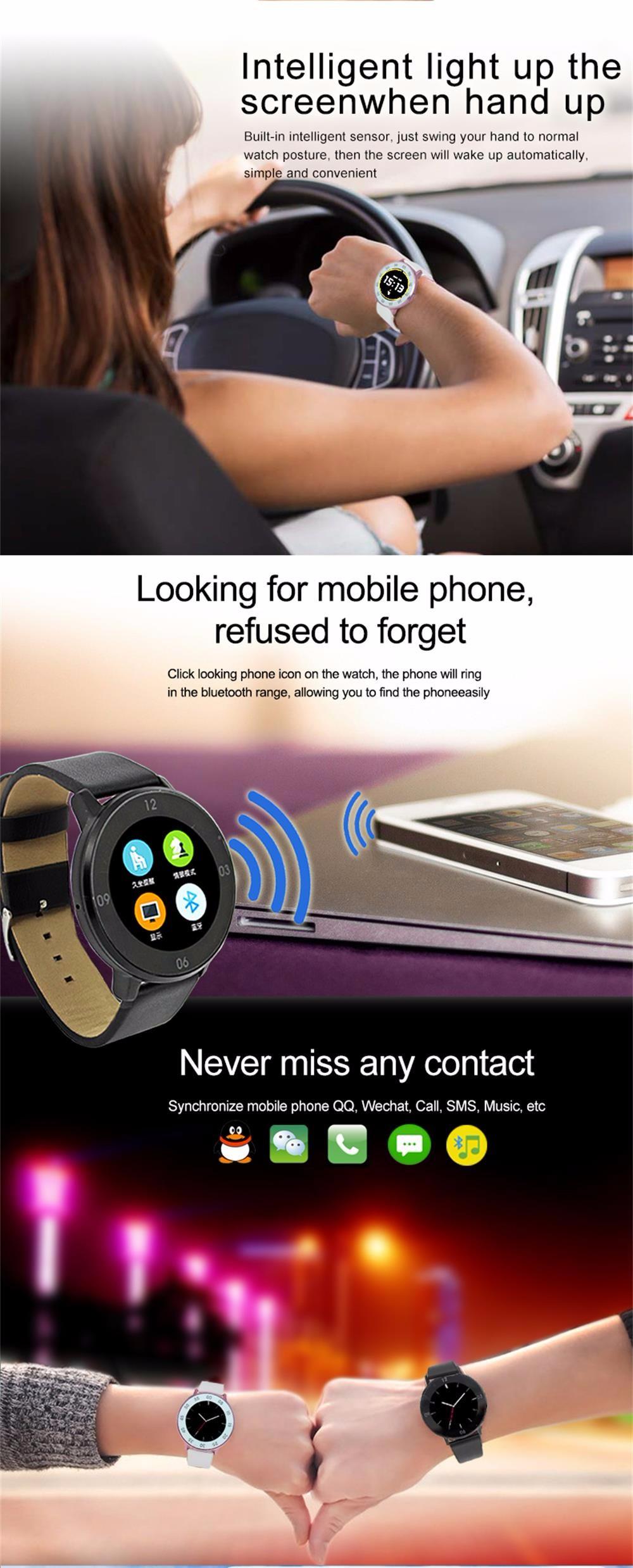 ZAOYIMALL Bluetooth Smart Watch S366 Pedometer Sleep Tracker Clock Phone Smartwatch for iPhone Xiaomi Huawei PK GT08 DZ09 U80