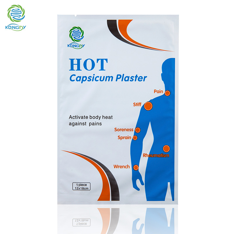 Hot Selling 10 Pcs Medical Capsicum Plaster Health Care Herbal Arthritis/Shoulder/Back Pain Relief Plaster for Body Massage(China (Mainland))