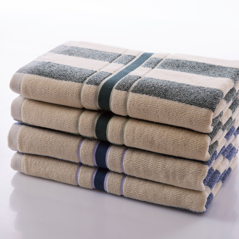 Striped Bath Towel 2015 New 135cm*65cm Swimming Pool Bathroom Beach Towel 100% Cotton Adult Towel Quick Dry Bath Towel(China (Mainland))