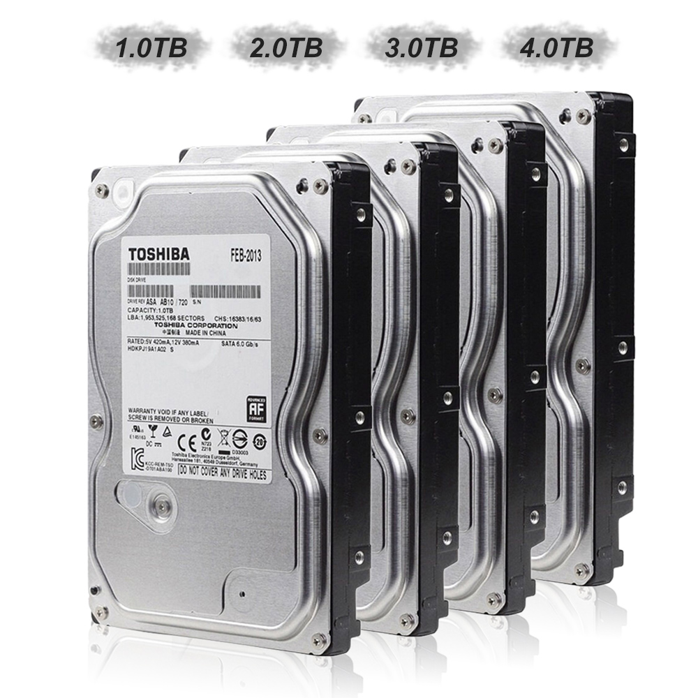 """TOSHIBA 2TB Video Surveillance HDD Internal Hard Disk Drive 5700 RPM SATA 6Gb/s 3.5"""" 32MB Cache for DVR Camera Security System(China (Mainland))"""
