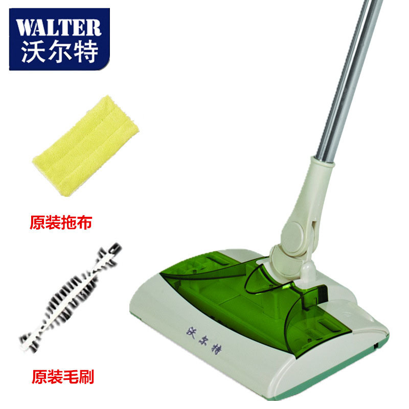 Free shipping English version of hand-held household sweeping machine wireless charging electric vacuum cleaner machine mop(China (Mainland))