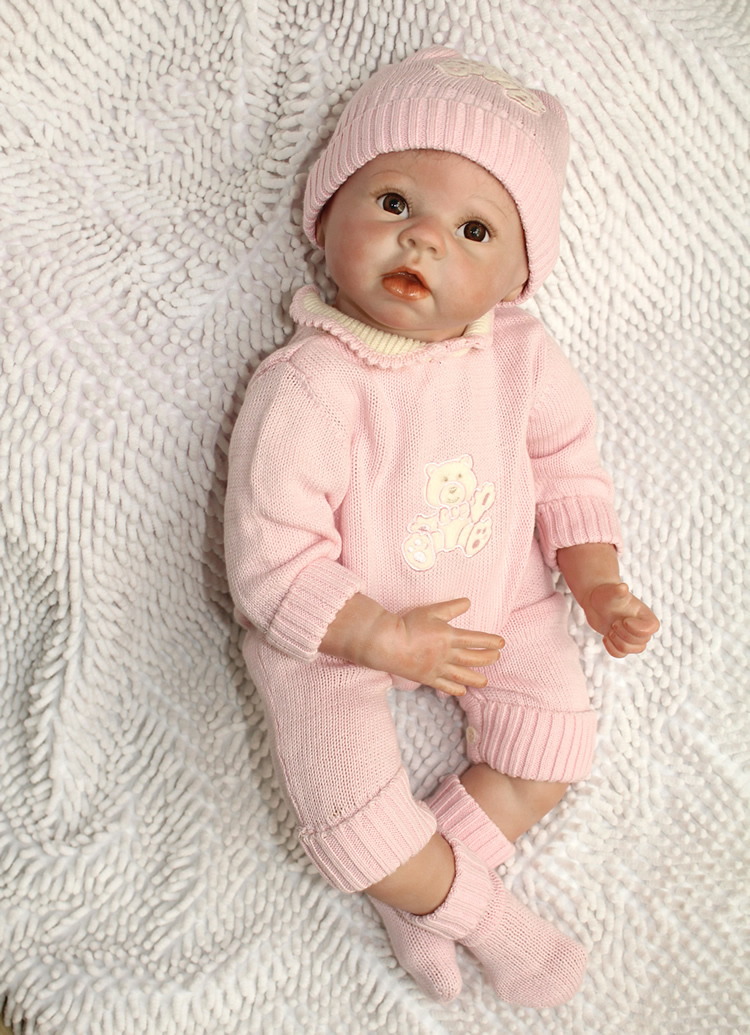 wholesale real silicone baby doll