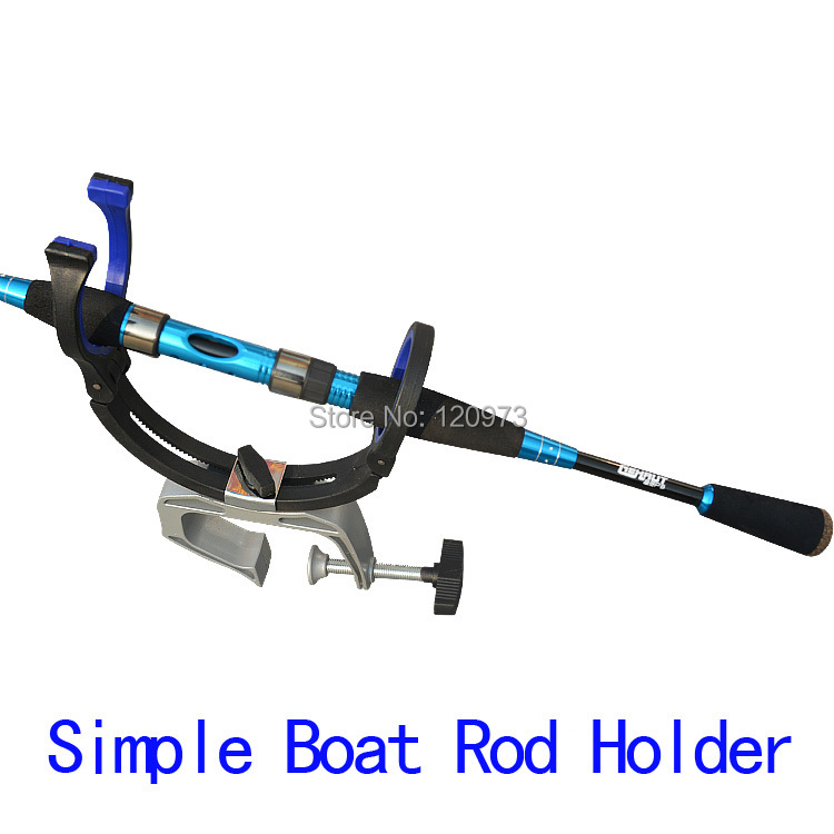 Boat Rod Holder Spinning Rod Support Metal + Reinforced Nylon Material 0-55mm Span Fishing Tackle Boat Rod Accessories <br><br>Aliexpress