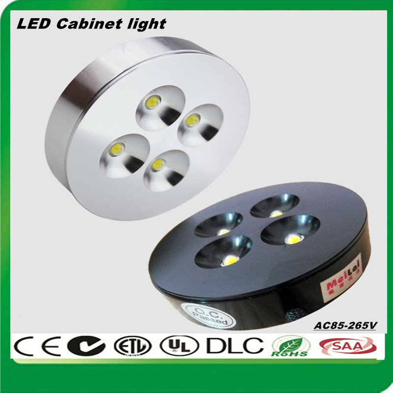 Здесь можно купить  50pcs Super Mini Epistar Chip LED Spotlight 1W 3W 4W LED cabinet light AC85-265V LED wall lamp Warm Cold white RGB Free shipping  Свет и освещение