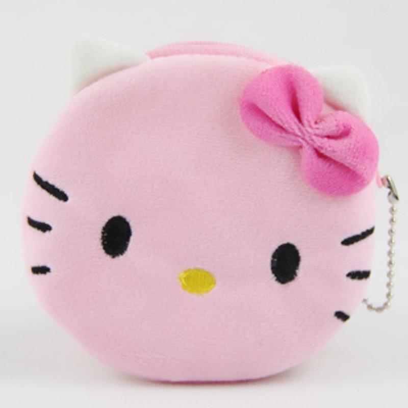 24 PCS Wholesale Hello kitty coin purse Mix order women's coin purse Women's wallet Children's purses(China (Mainland))