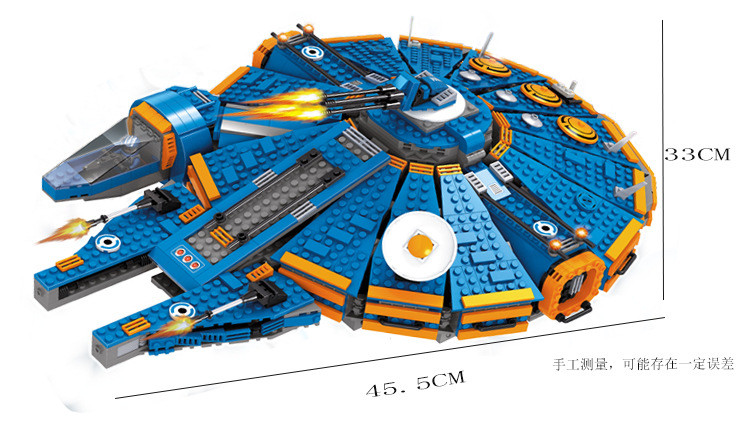 Ausini Star Wars Millennium Falcon Outer Space Building Blocks Space Ship Construction Sets Model Compatible With